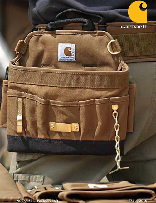 Carhartt Work Bags Fall 2019 / Spring 2020 Catalog